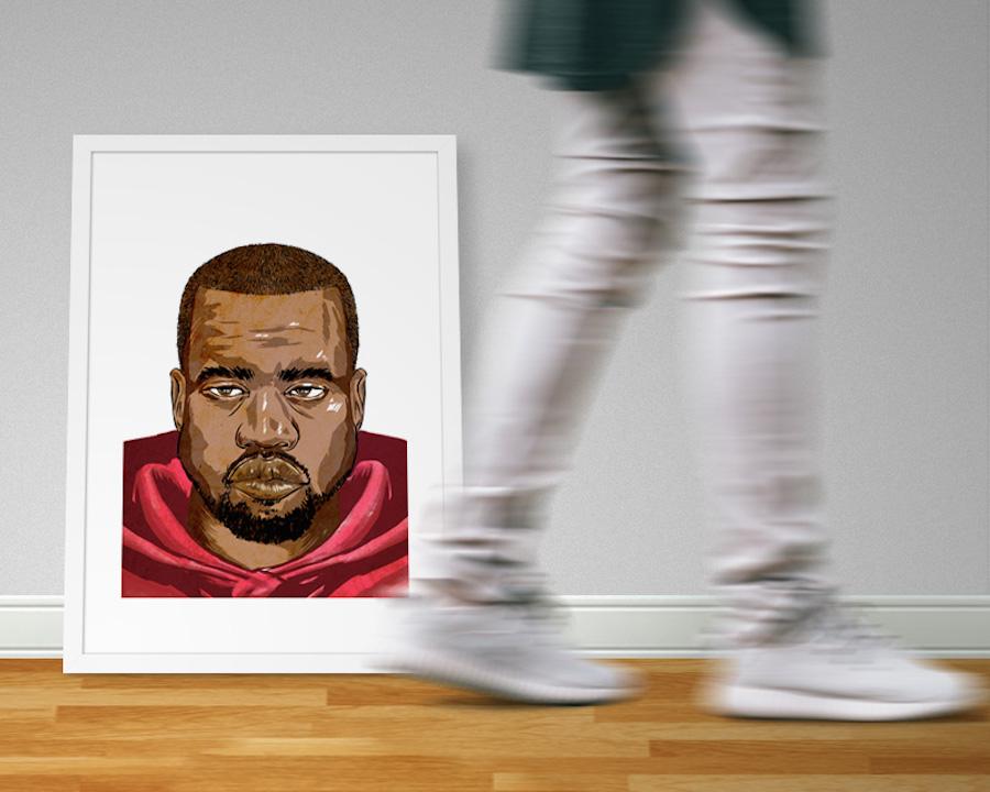 Delano Limoen retratos de los más grandes artistas del hip hop (2)