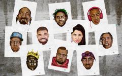 Delano Limoen retratos de los más grandes artistas del hip hop