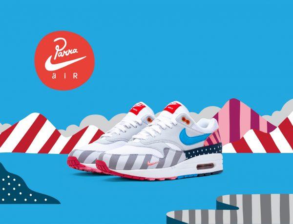 El artista Parra y una divertida colaboración para Nike