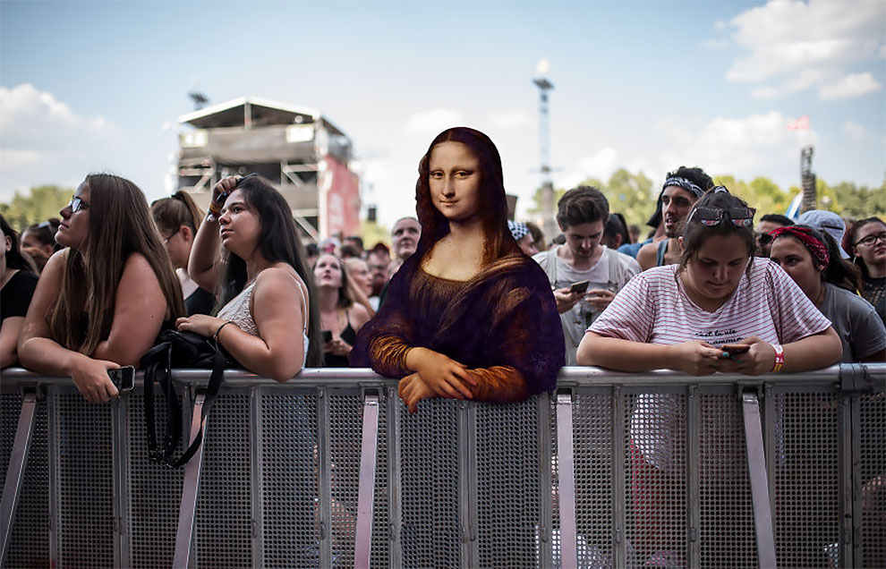 4 Leonardo Da Vinci – Mona Lisa (1503-19)