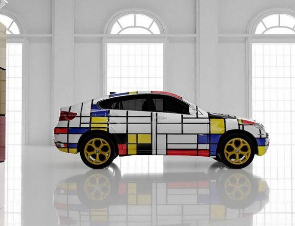 Autosalón Mondrian de Vasily Klyukin