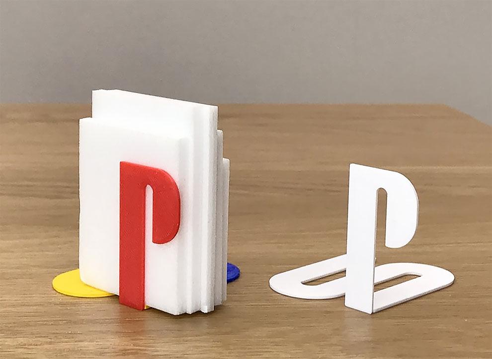 Diseñador convierte logos famosos en objetos de todos los dias con impresion 3d (23)