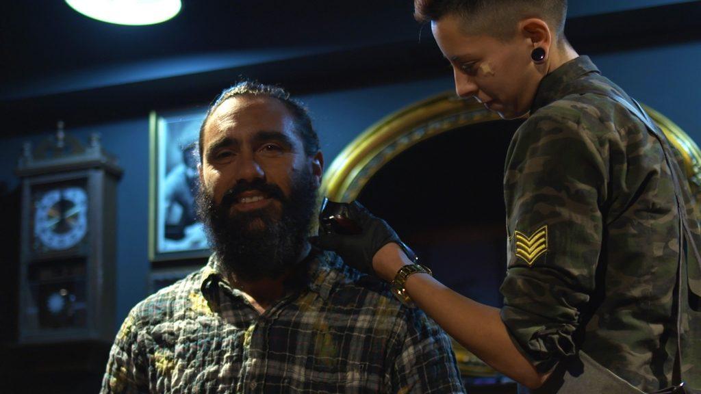 Juan Pablo Sorin a punto de vivir la experiencia NATURA HOMEM en THEBARBEER 3
