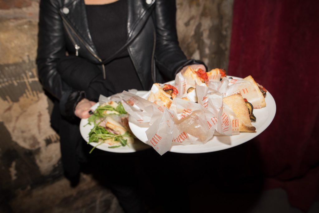 Los clásicos trapizzinos que se ofrecen para disfrutar al paso son perfectos para acompañar el aperitivo.