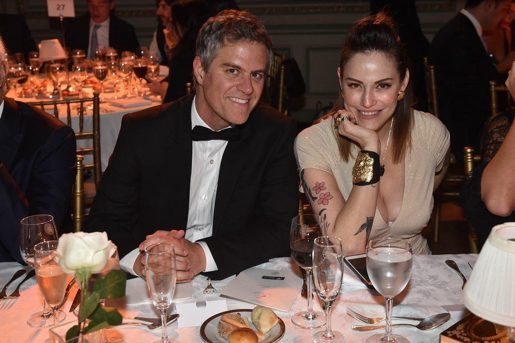 Mike Amigorena y Connie Ansaldi en la Gala solidaria de Fundación Zaldivar