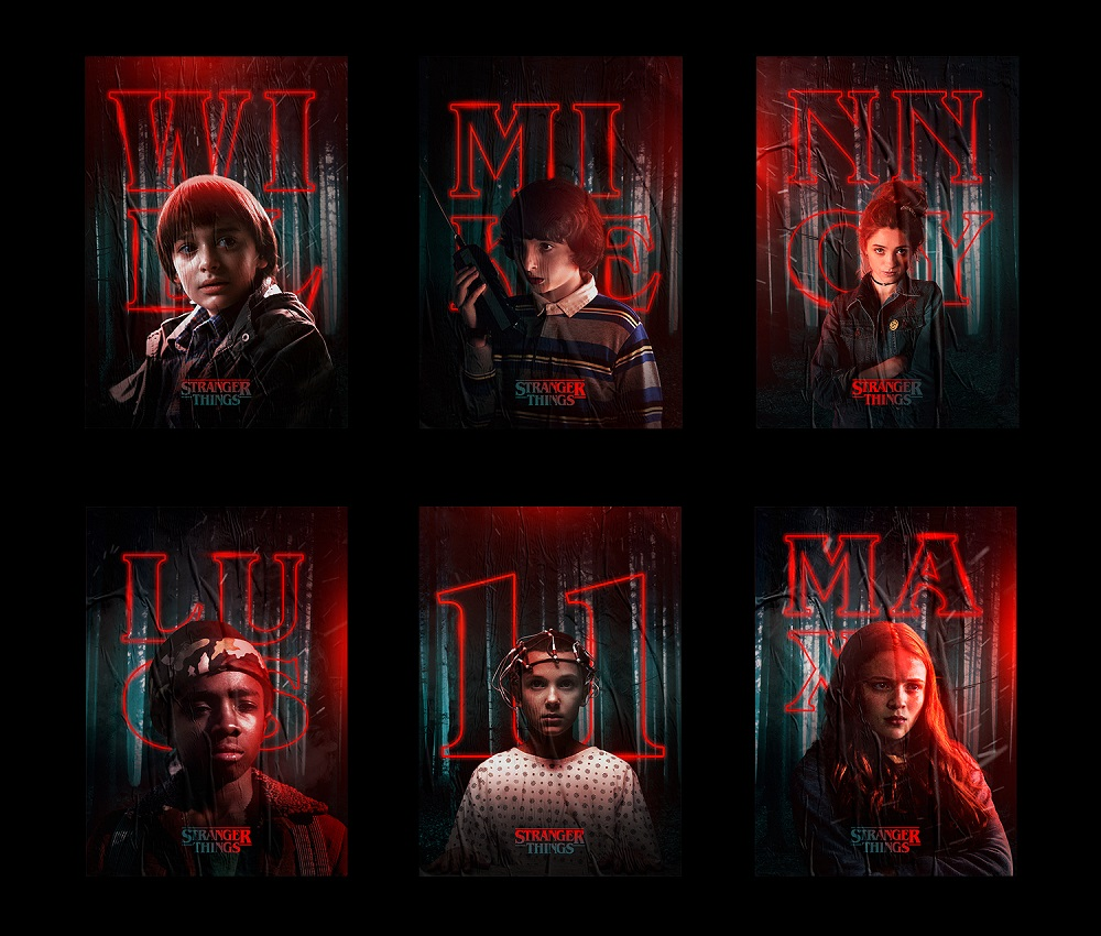 Rigved-Sathe-Stranger-Things-Posters-1