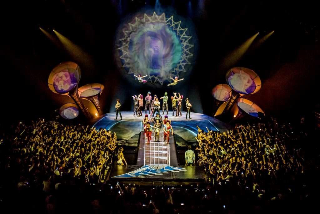 Sép7imo día de Cirque du Soleil se despide de Buenos Aires