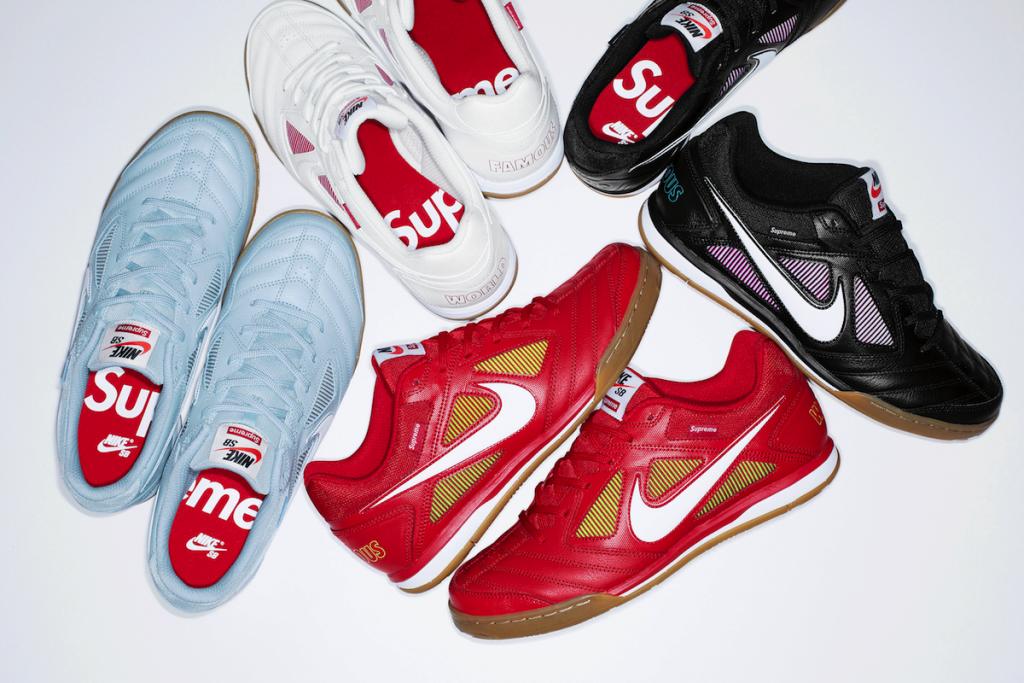 Supreme se vuelve a unir con Nike SB con una versión de las Gato (8)