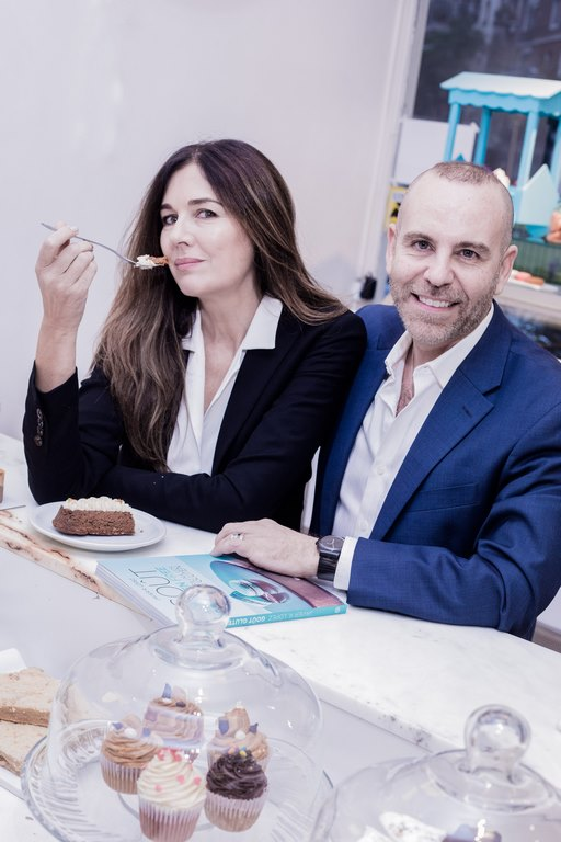 Andrea Frigerio no quiso perder la oportunidad de probar la pasteleria gluten free by  Gout