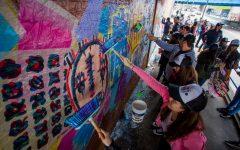 El arte inunda el país para promover #SiTomoNoManejo Mural Salguero