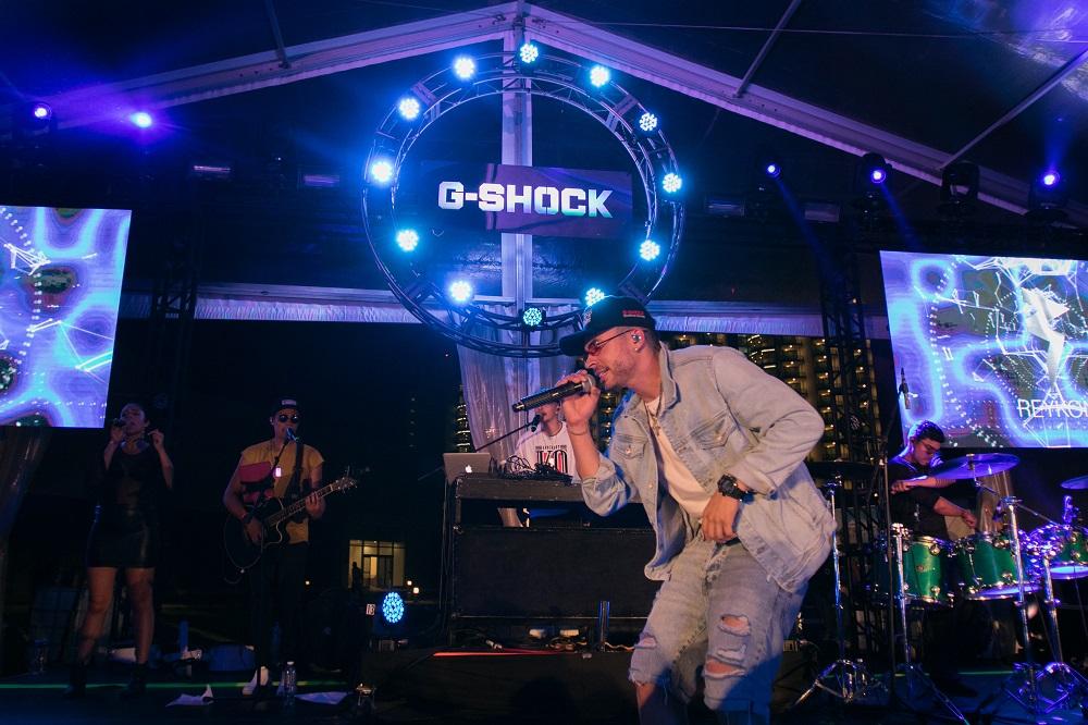 G-Shock... </p><p class=