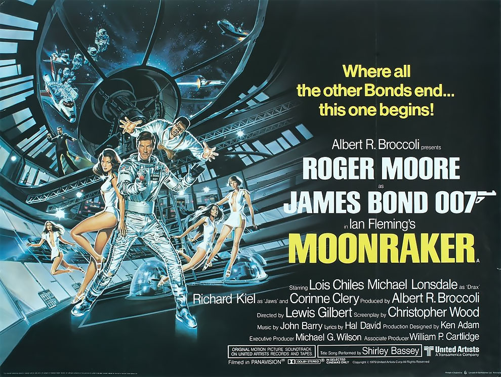 James Bond Moonraker (1979)