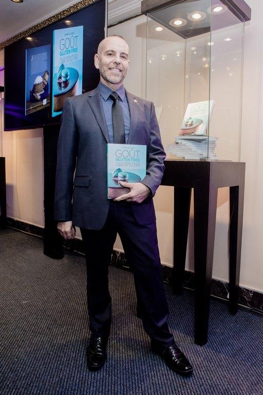 Javier López creador del libro de recetas Gout Gluten Free