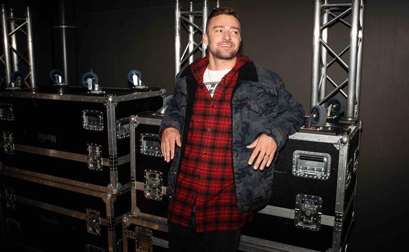 Justin Timberlake presenta su colección para Levi's