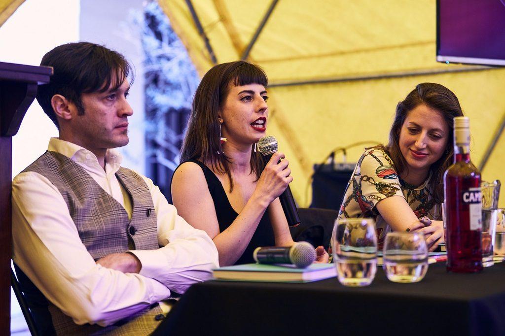 Matías Leanez, Pipi Yalour y Laura Marajofsky