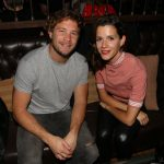 Nico Riera y Violeta Urtizberea en el festejo del 6º aniversario de Pony Line Bar