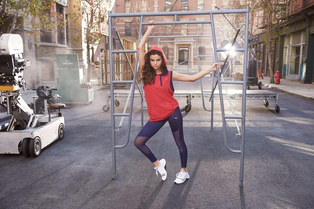 Puma presenta AMP XT junto a su embajadora global Selena Gomez