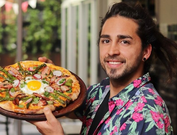 Almacén de Pizzas y una espectacular pizza de primavera junto al chef Lucas Escobar