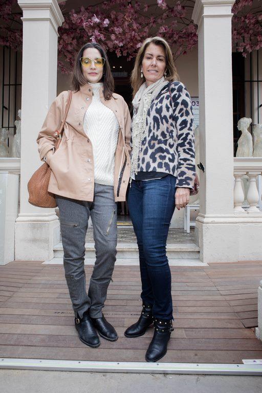 Astrid Muñoz y Ana Mesa en Casa FOA 2018, sede Devoto