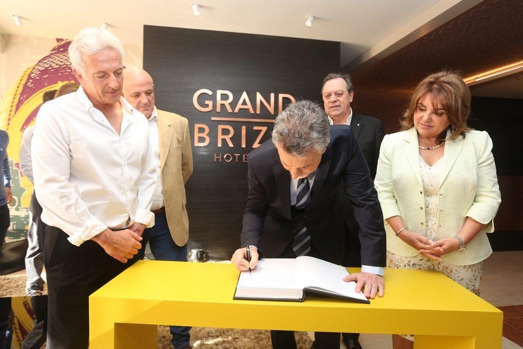 El Presidente de la Nación Mauricio Macri en la apertura del nuevo hotel Grand Brizo Buenos Aires (5)