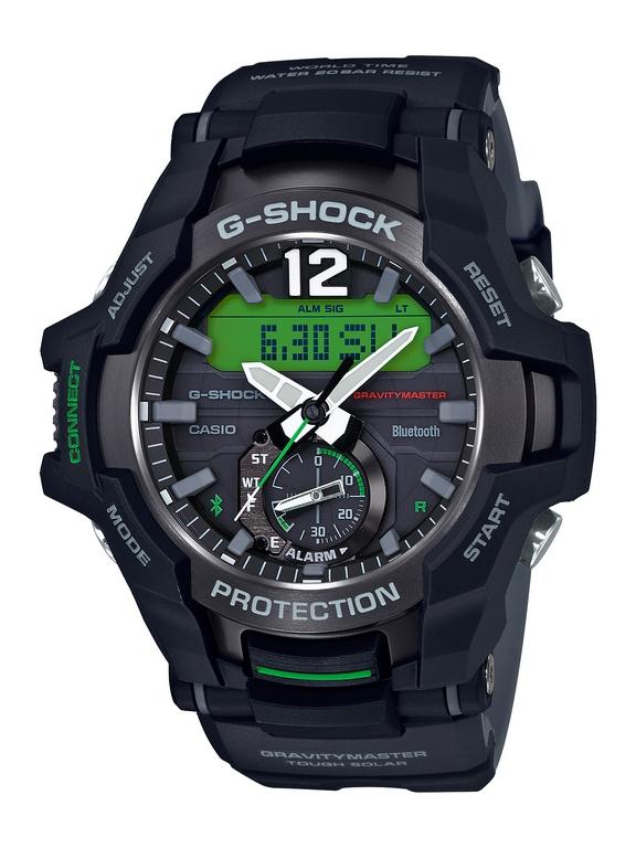 G-Shock presenta un nuevo Gravitymaster para los amantes de la aviación