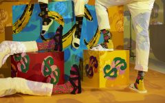 Happy Socks Andy Warhol loqueva