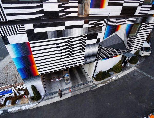 Nuevo mural de Felipe Pantone en 3D y de 4 pisos de altura (5)