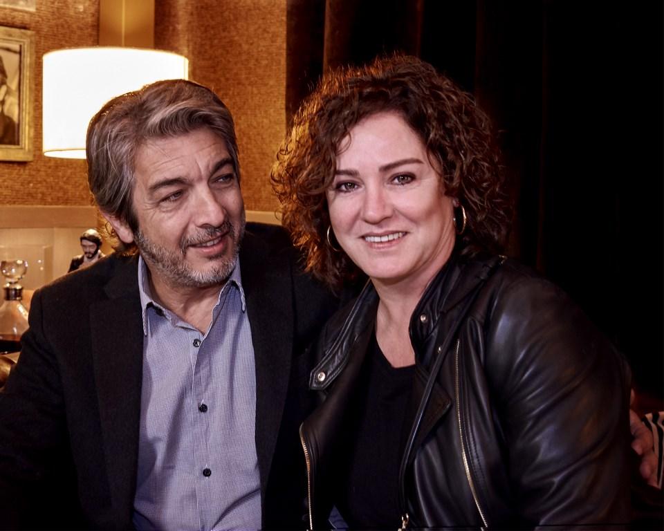 Ricardo Darín y Florencia Bas en Casa FOA 2018, en el espacio que Alejandro Dellamea diseñó inspirándose en el actor