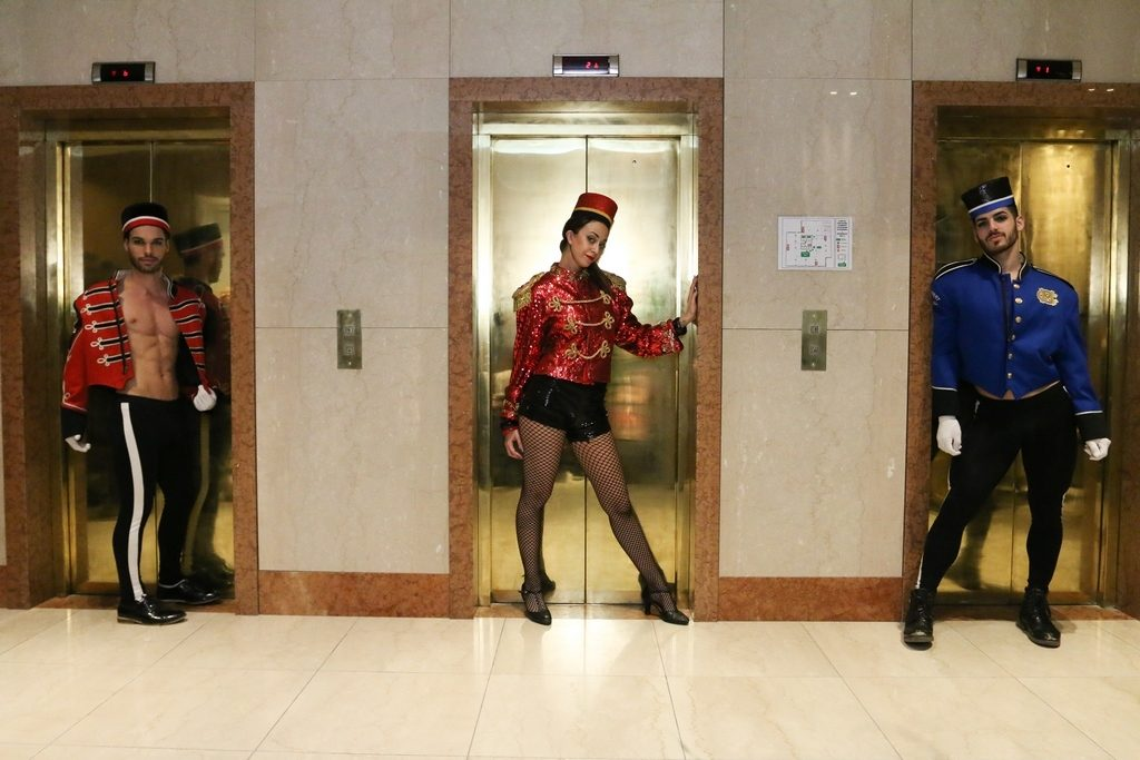 Show de Club 69 en la apertura del nuevo hotel Grand Brizo Buenos Aires