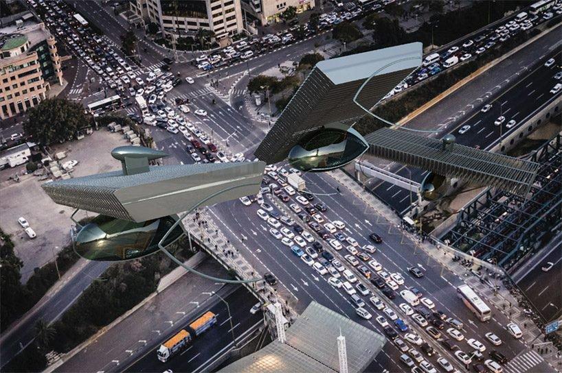 Volerian, el auto volador inspirado en el movimiento de las alas de las aves (1)