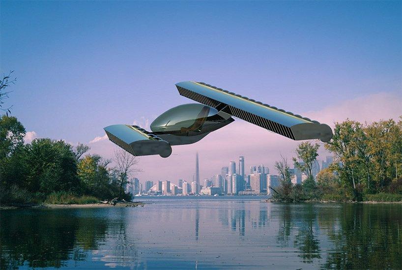 Volerian, el auto volador inspirado en el movimiento de las alas de las aves (10)