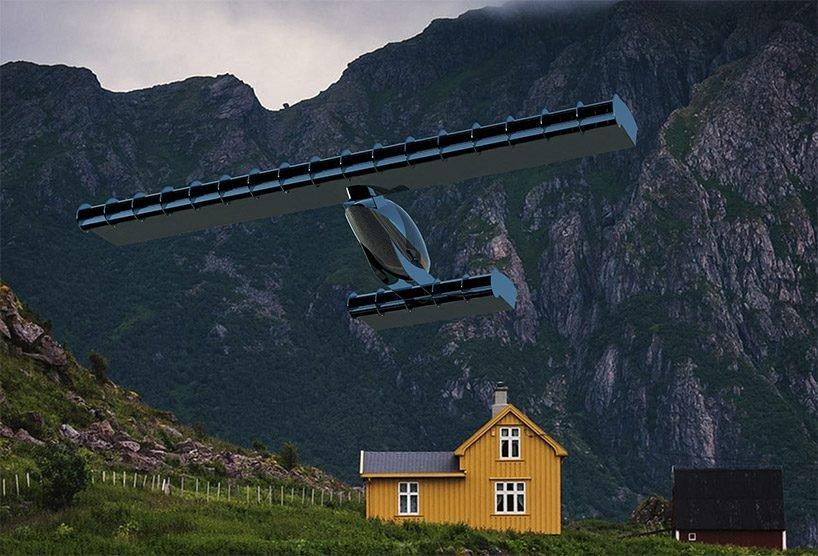 Volerian, el auto volador inspirado en el movimiento de las alas de las aves (12)