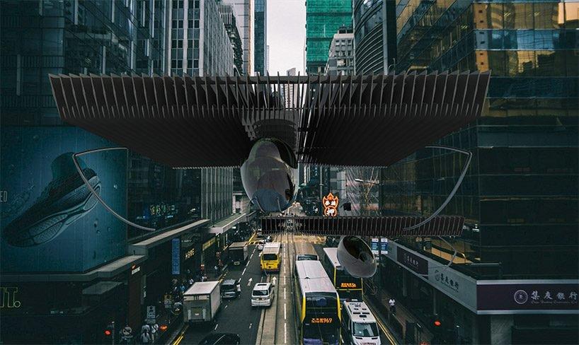 Volerian, el auto volador inspirado en el movimiento de las alas de las aves (5)