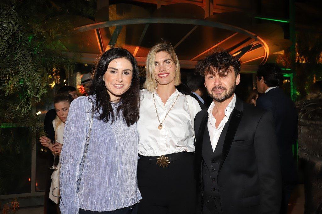 ANDREZZA MASTIGUIM DIRCOM DE LOUIS VUITTON, DELFINA BLAQUIER Y WALLY DIAMANET EN LA COMIDA DE LOUIS VUITTON