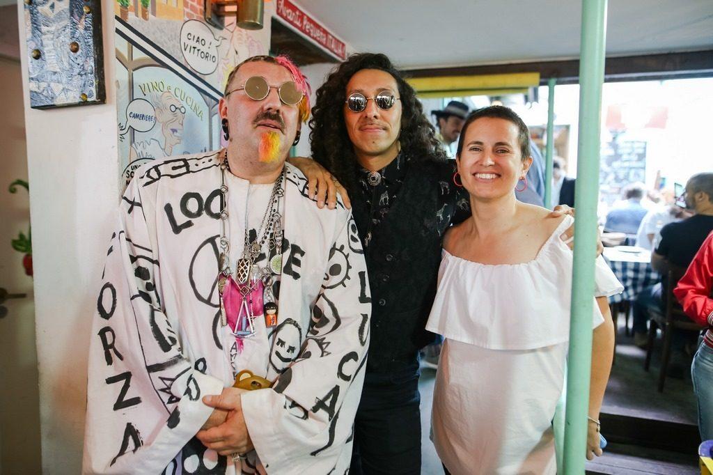 Adrián Francolini, Lenny Funk y Gimena Pelliza (1)