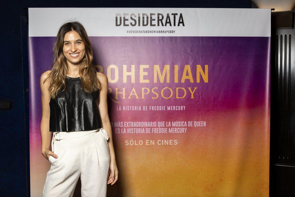 Cintia Garrido en el estreno de Bohemian Rhapsody. Avant premier de Desiderata