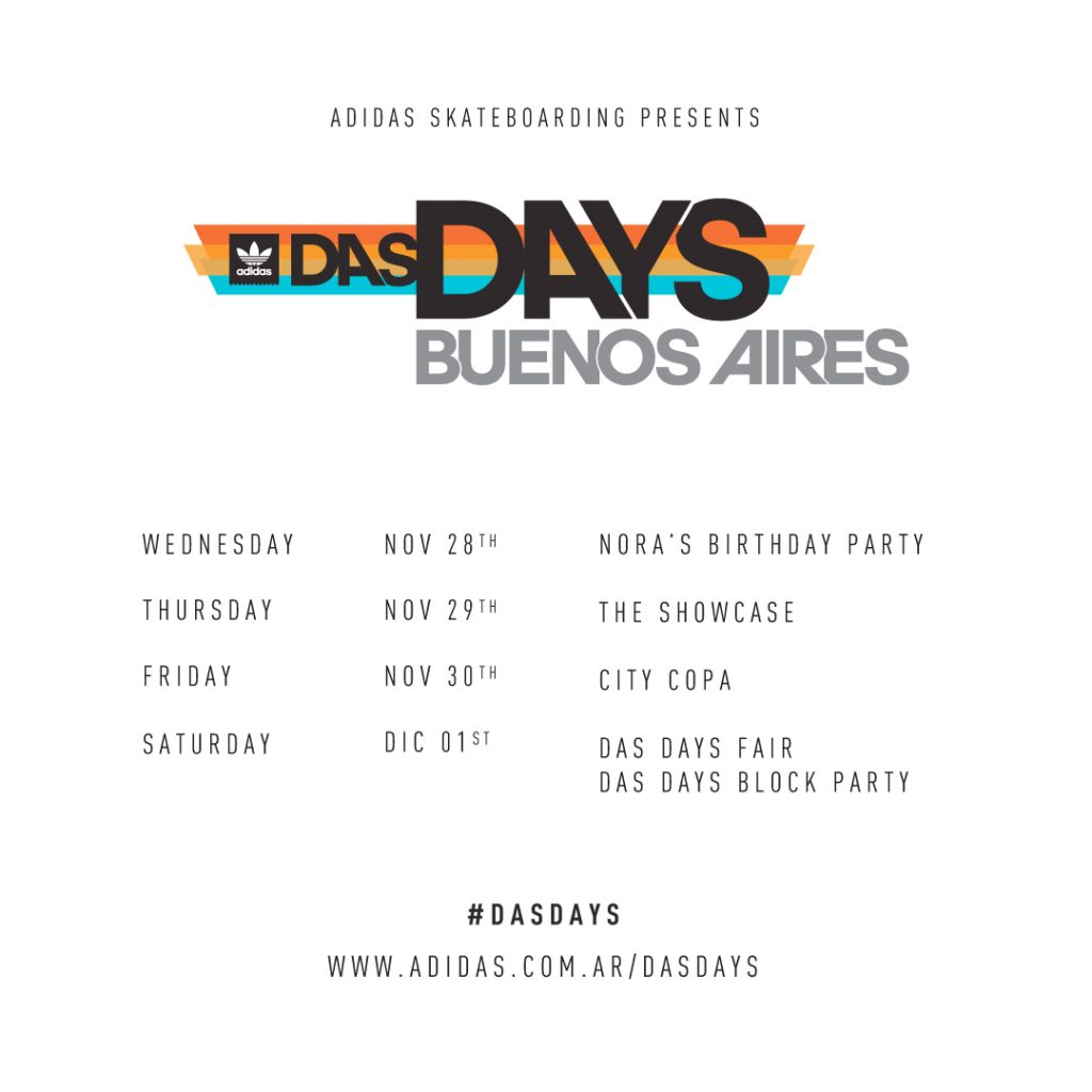Das Days Buenos Aires - Agenda