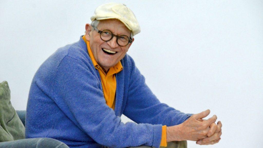 David Hockney desbancó a Jeff Koons como el artista vivo más caro (1)