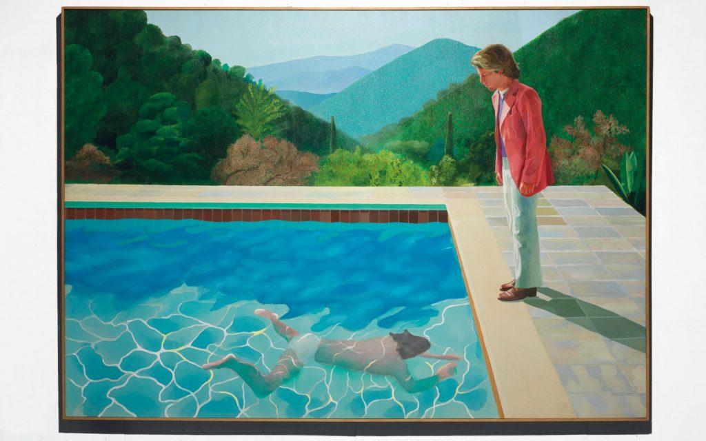 David Hockney desbancó a Jeff Koons como el artista vivo más caro (2)