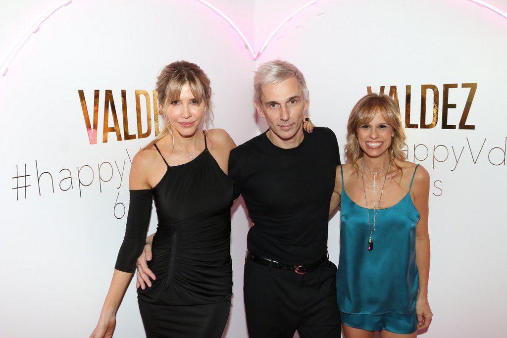 Guillermina Valdes, Fabian Paz y Mariana Fabbiani en la celebración del 6to Aniversario de Valdez en Alcorta Shopping (7)