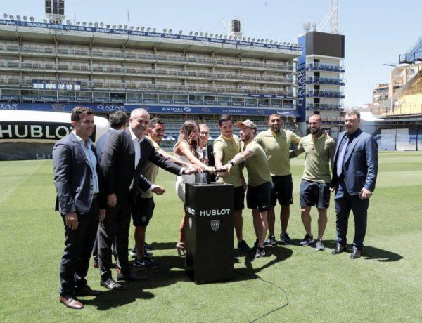 Hublot presentó su reloj Classic Fusion Chronograph Boca Juniors (2)