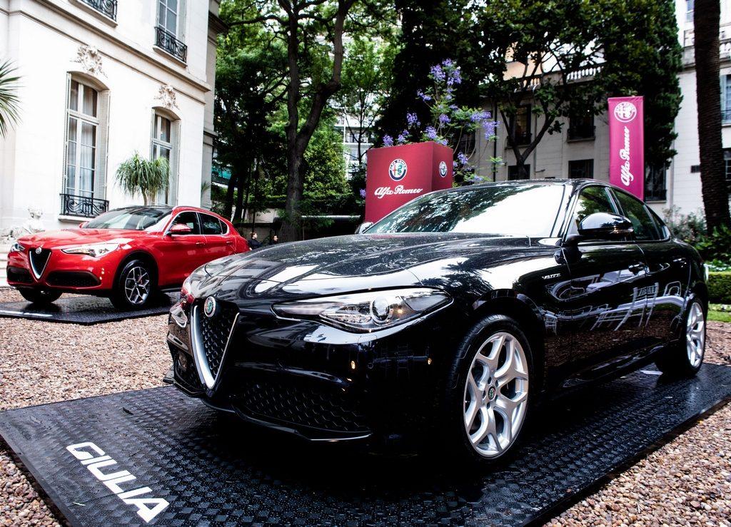 Lanzamiento de los nuevos modelos de Alfa Romeo Giulia y Stelvio