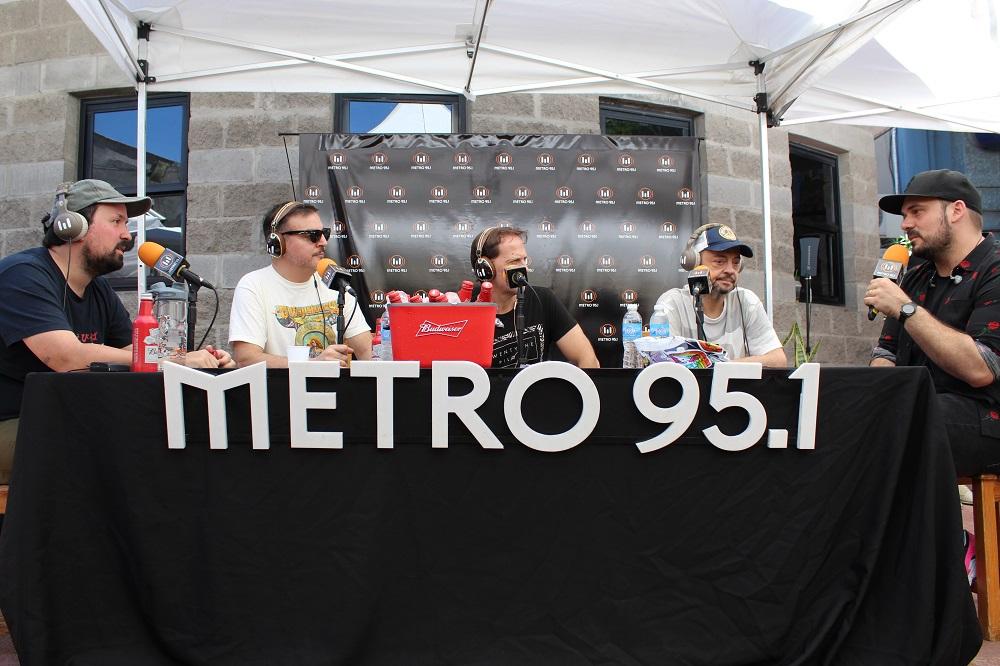 Lollapalooza 2019 Budweiser radio Metro (2)