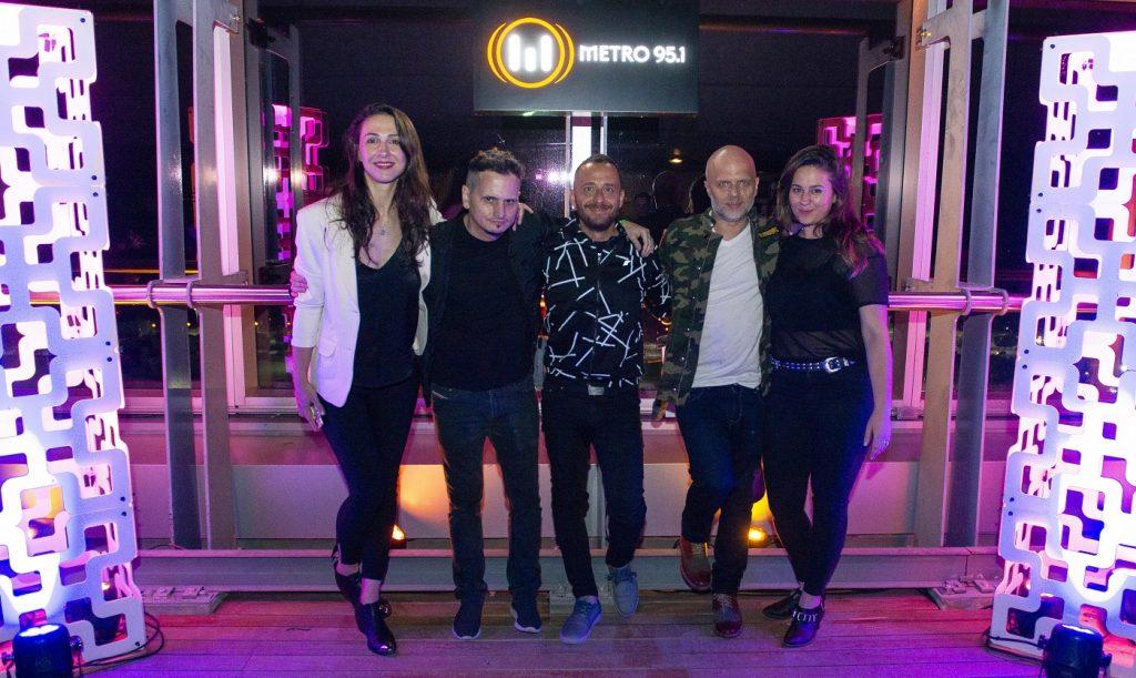 METRO 95 1_Metro Top Floor_Julieta Pink - DJ Paul - Nicolás Artusi - Sebastián Wainraich - Sol Rosales_Foto_MaxKlein