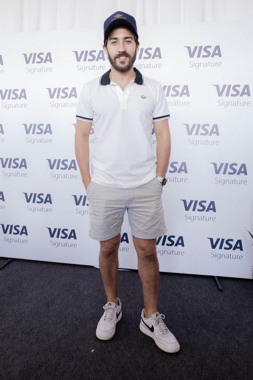 Nicolás Francella en el Pro-Am del 113º VISA Open de Argentina