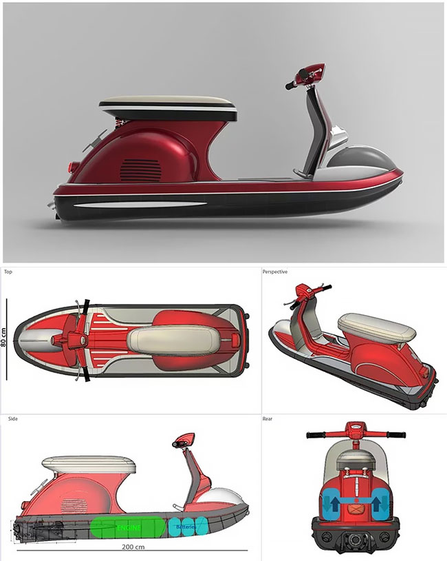 Vespa Jet Ski (3)