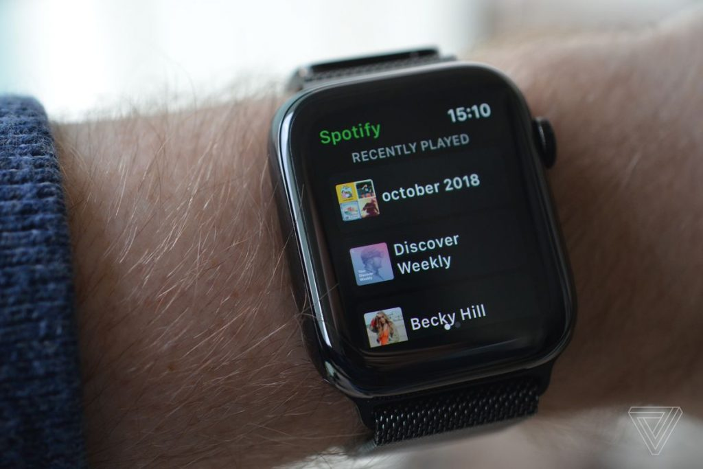 spotify apple watch loqueva