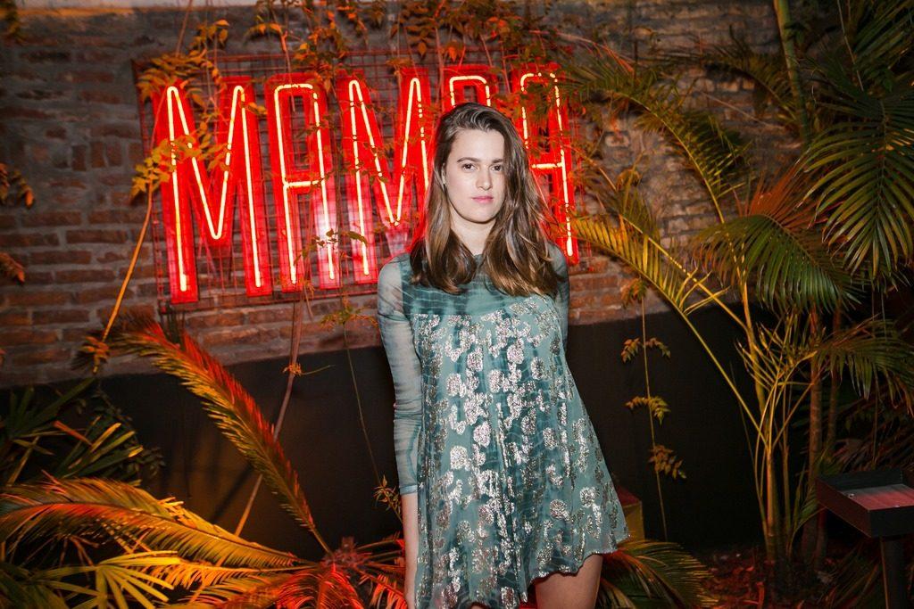 Bernardita Barreiro en la apertura de Mamba