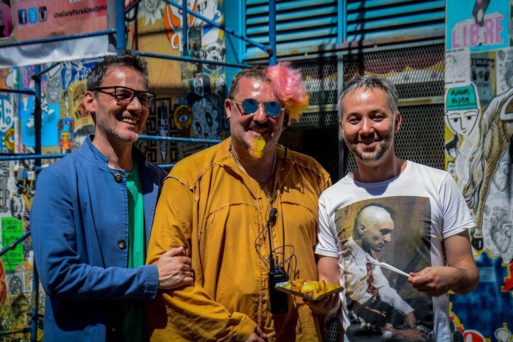 Daniel Malnatti, Adrián Francolini y Diego Iglesias en la sexta edición de Festival Al Dente