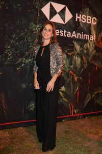 Julia Lois, Head de Marketing de HSBC, en el espacio de HSBC en la Fiesta Animal
